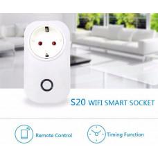 Sonoff S20 távolról vezérelhető Wi-Fi-s dugalj