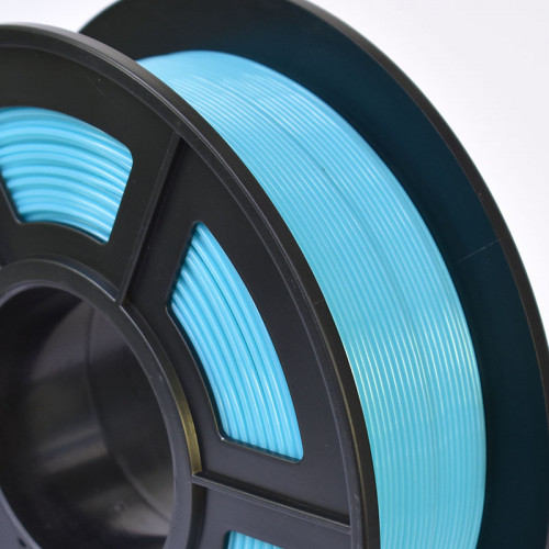 PET-G Cián filament Sunlu 1.75mm 1kg