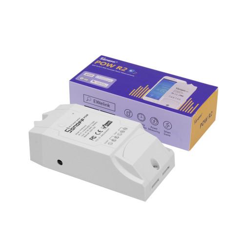 Sonoff POW R2 WiFi-s kapcsoló, fogyasztásmérő